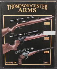 Thompson/Center Arms 2001 Pocket Catalog No.28. Contender Encore Classic Hawken