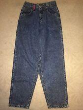 "Lee Jeans Medium Wash ""Super Baggy"" Girls Size 14 Slim #C"