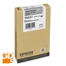 EPSON STYLUS 9800 INK CTG # T603700, 220ML, L. BLACK, OEM