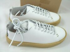 YOGI FOOTWEAR LEATHER SHOES MISS RUFUS WHITE LACE UP Size 36 UK 3 NEW RRP £130