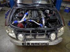 CXRacing Air Intake Pipe Filter Kit For Lexus SC300 1JZ-GTE Twin Turbo 1JZ Blue