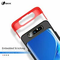 GKK For Samsung A80 3 in 1 360° Full Protective Anti-Shock Matte Hard PC Cover