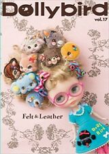 Dolly Bird Vol.17 Felt & Leather Pullip Doll Japanese Magazine Book Japan