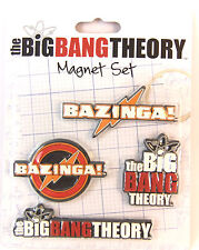THE BIG BANG THEORY MAGNET SET OF 4 BRAND NEW LASER CUT