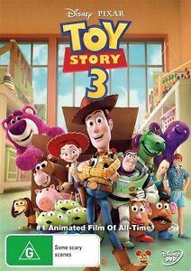 Toy Story 3 (DVD, 2010), NEW SEALED AUSTRALIAN RELEASE REGION 4 lot 202