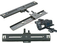 LP03 2-Way 250mm Macro Focusing Rail Slider for Canon Nikon Pentax Olympus SLR D