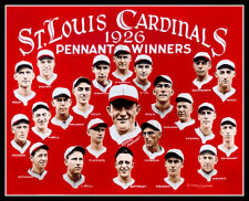 1926 St. Louis Cardinals Photo 8X10 - Hornsby COLORIZED