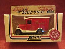 LLEDO   Days-Gone  1934 Chevrolet Van  Red  #21007  Hamleys  NIB  (8)