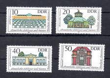 1983 DDR  Satz  postfrisch Mi-Nr.   2826 - 2829  Potsdam -  Sanssouci