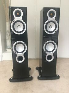 Monitor Audio GS20 GOLD SIGNATURE Speakers Piano Black Gloss (Note Re Delivery)