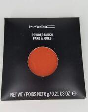 AUTHENTIC MAC COSMETICS Powder Blush Pro Palette REFILL pan Loudspeaker coral