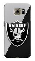 Oakland Raiders Samsung Galaxy S4 5 6 7 8 9 Edge Note 3 - 9 Plus Case Cover 08