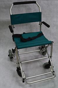 Kalff Mobilstuhl SL8581A Leichtgewicht faltbar Rollstuhl Reiserollstuhl + Tasche
