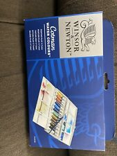 NEW IN BOX  Winsor & Newton Cotman Water Colours Painting 14pc FREE  SHIPPING