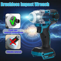 18V Electric Cordless Brushless Impact Wrench 588Nm For Makita Battery DTW285Z