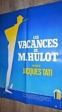 jacques tati LES VACANCES DE M. HULOT  affiche cinema pierre etaix