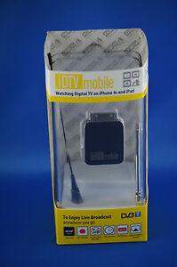 iDTV Mobile 30 PIN Micro Stick DVB-T fur Apple iPhone iPad iOS App Antenne Airpl