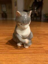 Bing & Grondahl B&G Cat Figurine, #1553 Made in Denmark, Copenhagen