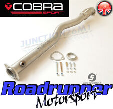 Cobra Sport Astra SRI MK5 2nd De Tubo De Escape Acero Gato elimina 2nd Cat