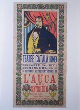 Reproduction Print of CLASSIC EUROPEAN POSTER 1907 THE ALLELUIAS OF MR ESTEVE