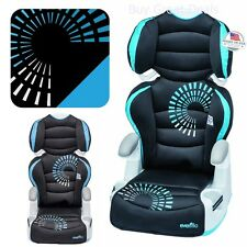 Kids Car Seat Baby Toddler Big AMP Booster Adjustment Comfort Pad Chair Evenflow