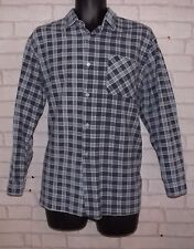 MEN'S Long Sleeve Shirt LARGE Mod Indie Smart Skater Hipster Trend Emo Punk