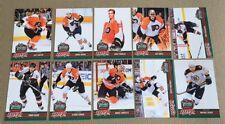 2010 UD NHL Hockey Winter Classic Bruins VS Flyers 20 Card Trading Card Set