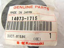 KAWASAKI AIR DUCT 14073-1715 ZX600J ZX600G ZZR600 ZX 600 ZZR NEW # 1 + 4