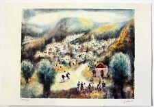 "Albert Goldman """"Landscape II "" Hand Signed and Numbered 118/250 Serigraph"