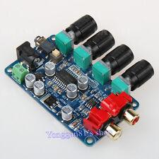 LM1036 + NE5532 Stereo Preamp Preamplifier Treble/Bass Tone Board DIY Amplifier