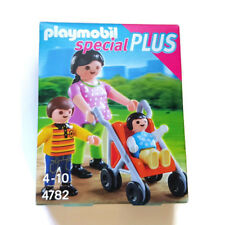 Playmobil Mother with Children Mamá con Niños 4782 Stroller Baby Mom Infant Bebé