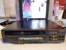 VIDEOREGISTRATORE VHS SONY SLV-401 TOP DI GAMMA con difetto audio...LEGGI BENE!!