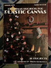 Christmas Projects for Plastic Canvas pattern leaflet