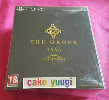 THE ORDER 1886 BLACKWATER EDITION SONY PS4 NEUF SCELLE VERSION 100% FRANCAISE