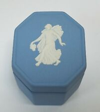 Wedgwood Trinket Box Made in England Hallmark KD