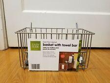 Over The Door Basket Holder Organizer Kitchen Storage Cabinet Organizer Rack