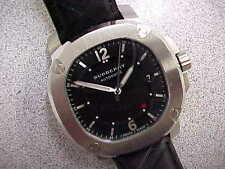"""Burberry Men's AUTOMATIC Watch BBY1209 Stainless """"The Britain"""" Box/Tag 43mm NICE"""