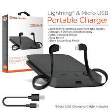 HyperGear 4000mAh Lightning & Micro USB Portable Charger