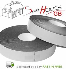 15m x 50mm x 5mm Long Acoustic Soundproofing Resilient Tape Stud work Isolation