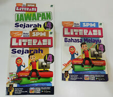 SPM Reference Second-hand Books - Sejarah and BM