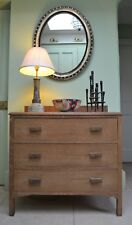 Limed Oak Chest of Drawers Bedside Cabinet Hall Side Table Heals Gordon Russell