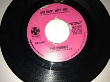 """THE UNIQUES One Night With You / Lucille PARAMOUNT 0116 45 VINYL 7"""" RECORD SOUL"""
