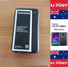 Samsung Galaxy Note 4 Battery EB-BN910BBE Wth Black Wall Charger Dock Kit -Local