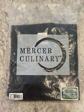 Mercer Culinary Unisex Chef Coat Large -Mesh Back Brand New With Tags