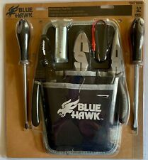 8 Piece Electricians Tool Set With Pouch Blue Hawk 0471888