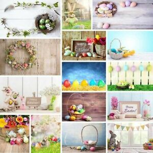 Happy Easter Day Photography Background Photo Backdrop Props Baby Child Adult
