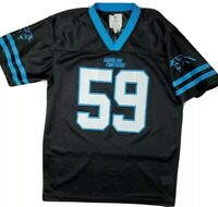 Boys Reebok Luke Kuechly 59 NFL Carolina Panthers Football Jersey Youth XL