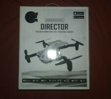 Protocol Director foldable drone live streaming cameras