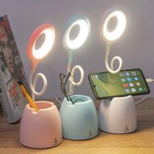 Adjustable LED Reading Desk Lamp Flexible Bedside Table Study Night Light