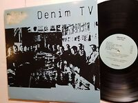 DENIM TV - Self Titled s/t 1988 POST PUNK NEW WAVE PSYCH (LP)